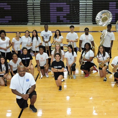 The Cane Ridge marching band will perform at Ensworth's