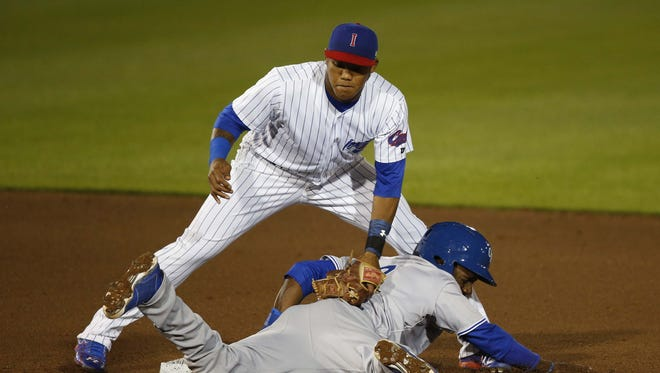 Reports surfaced late Monday that Iowa Cubs infielder Addison Russell has been called up to Chicago to join teammate Kris Bryant, who was lifted from Iowa just last Friday.