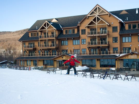 The new Tram Haus Lodge was the first project completed under Jay Peak Resort's new redesign on Wednesday Feb. 8, 2012.