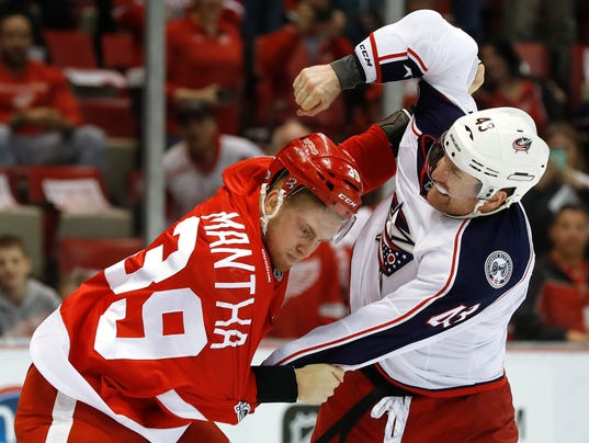 Red Wings solid, but break goes against them in 3-2 OT loss to Jackets