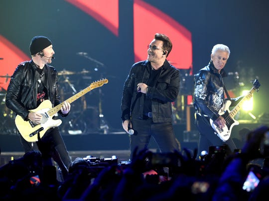U2, shown here at the  2016 iHeartRadio Music Festival at T-Mobile Arena on September 23, 2016 in Las Vegas, Nevada, are headed to Jersey this summer.