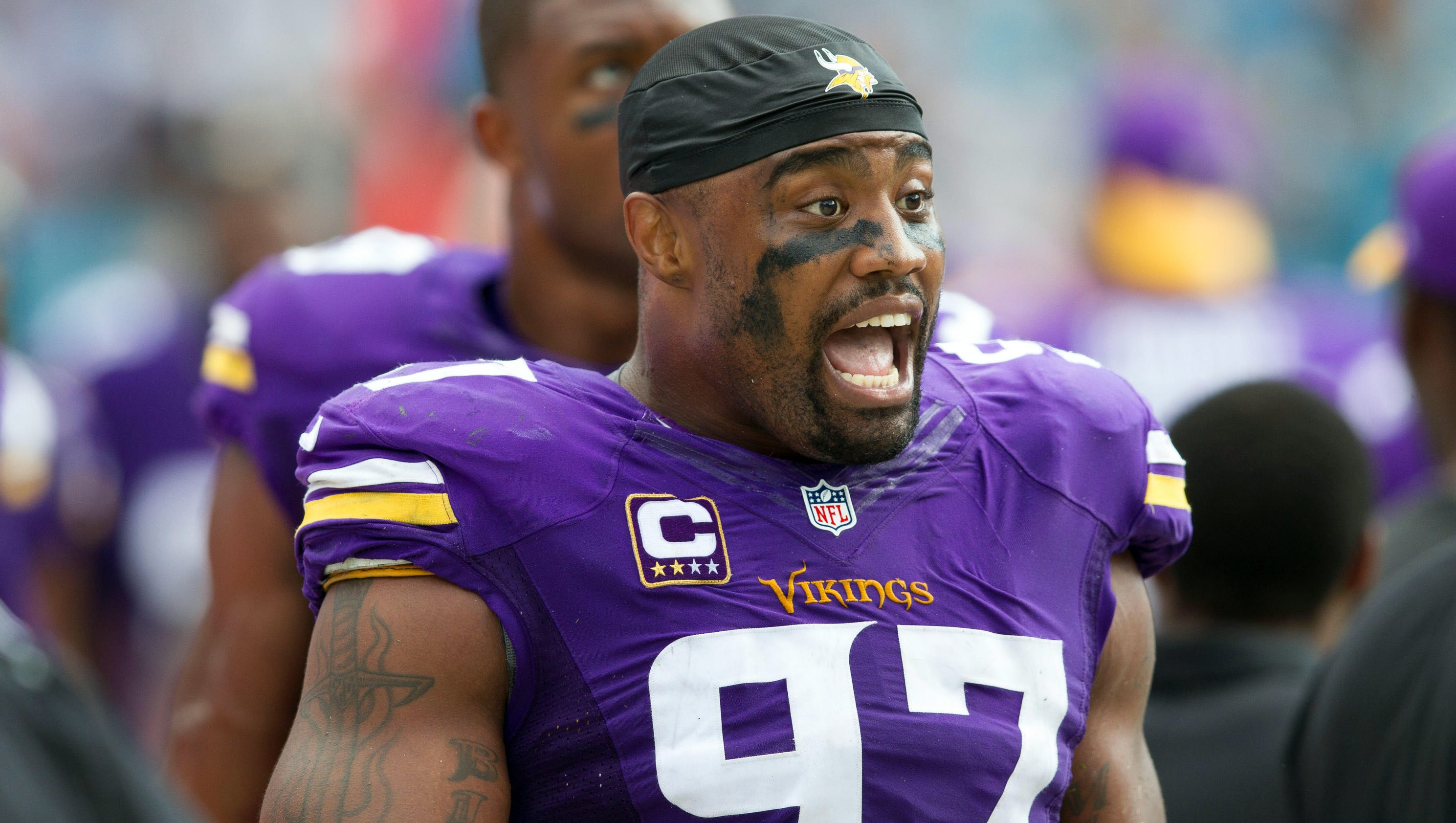 Everson Griffen Minnesota Vikings agree to four year extension