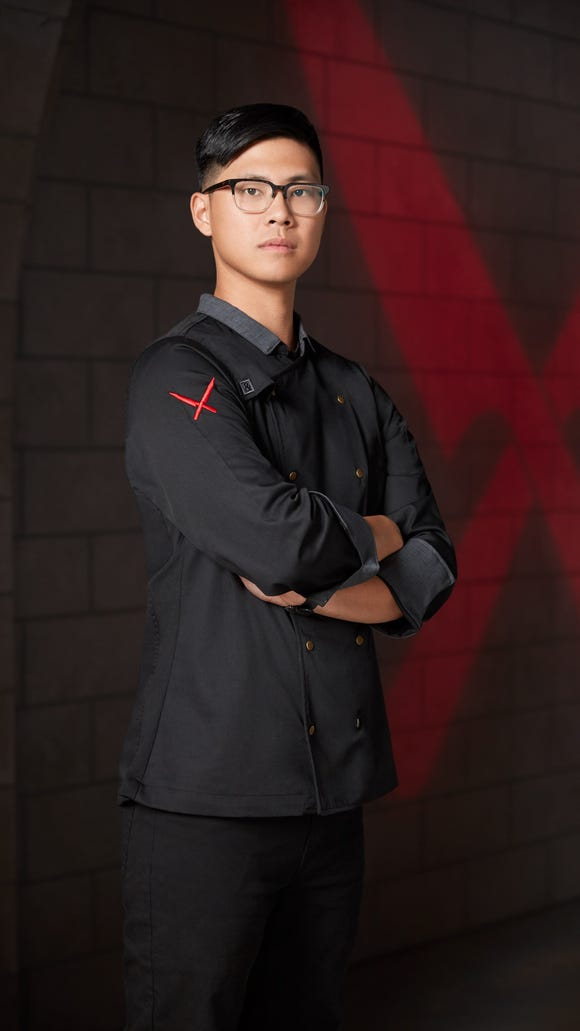 Portrait of Kevin Tien, as seen on Iron Chef Gauntlet,