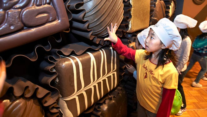 """""""Chocolate,"""" an exhibit created by The Field Museum, will be at the Cranbrook Institute of Science Sept. 23-Jan. 7. This is a photo of the exhibit from an earlier stop on its tour."""