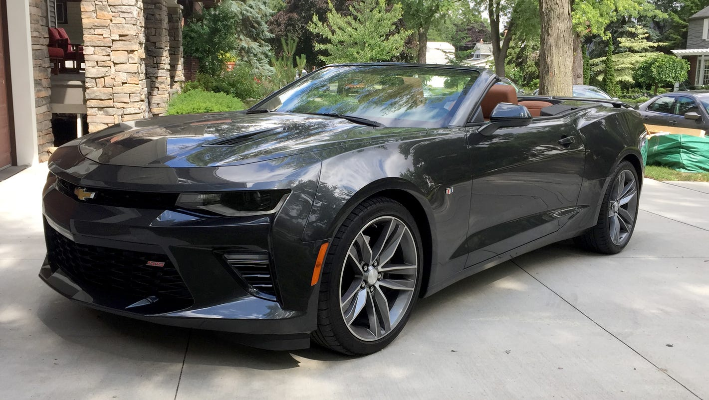 Review: Topless 2016 Chevrolet Camaro soars to top of its class