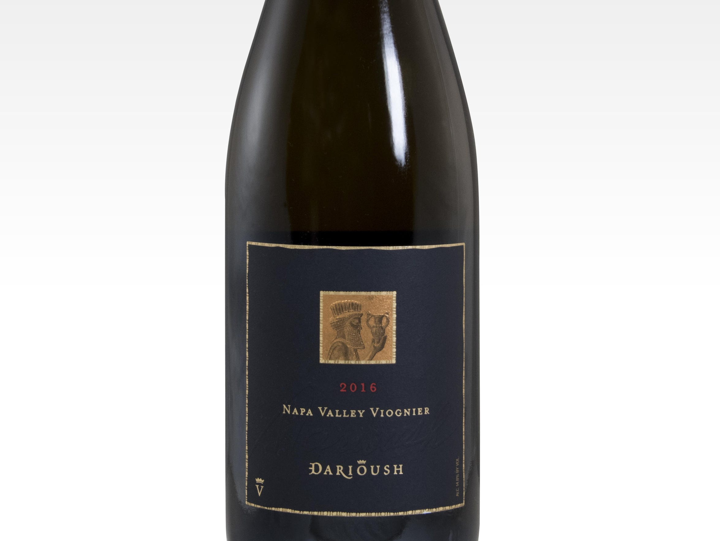 The '16 Darioush Napa Valley viognier leads off dinner