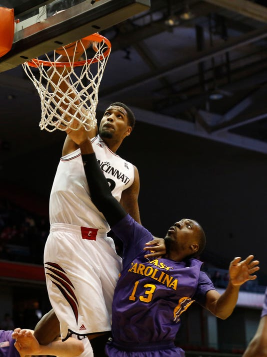 NCAA Basketball: East Carolina at Cincinnati