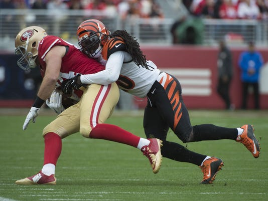 NFL: Cincinnati Bengals at San Francisco 49ers