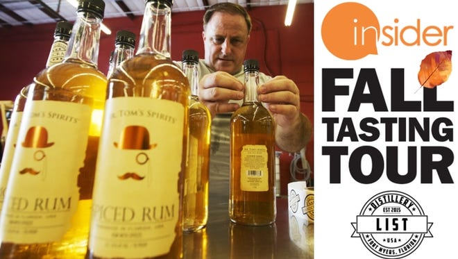 Join us for a Fall Tasting Tour at LIST Distillery in Fort Myers on Thursday, September 27th.