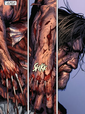 "Logan has his claws but not his helpful healing ability, which may lead to his ultimate demise in ""Death of Wolverine."""
