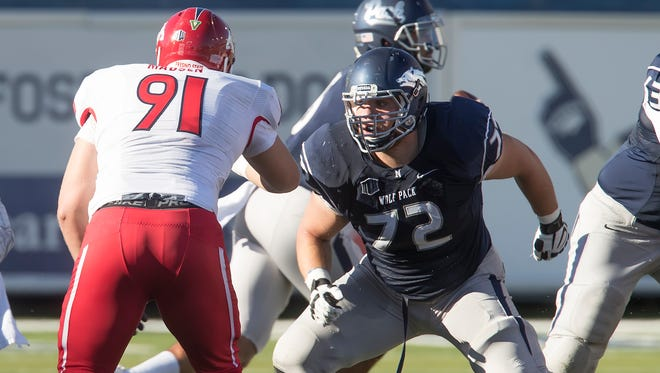 Nevada's Jeremy Macauley was nominated for the Burlsworth Award.