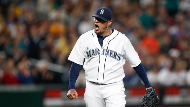 Mariners ace Felix Hernandez spent nearly two months last season on the disabled list, which ended his 10-year streak making at least 30 starts and pitching 190 or more innings.