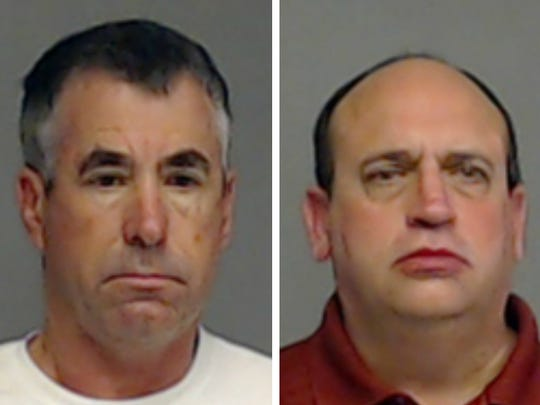 Three men were arrested on charges of soliciting prostitution.
