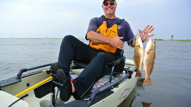Choupique Bayou is a great summer destination to catch redfish.