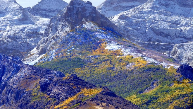 Lamoille Canyon in the Ruby Mountains.