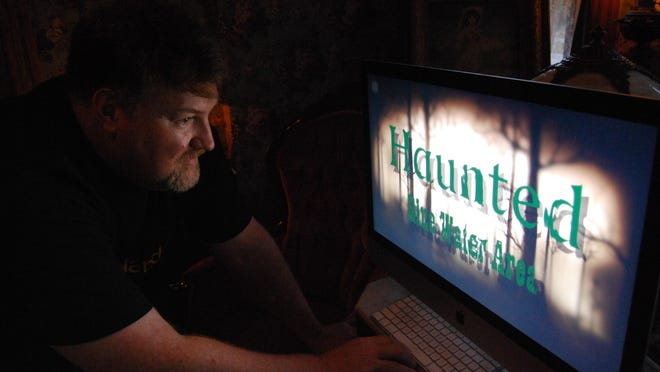 Chris Troy is producing a documentary about haunted places in St. Clair County.
