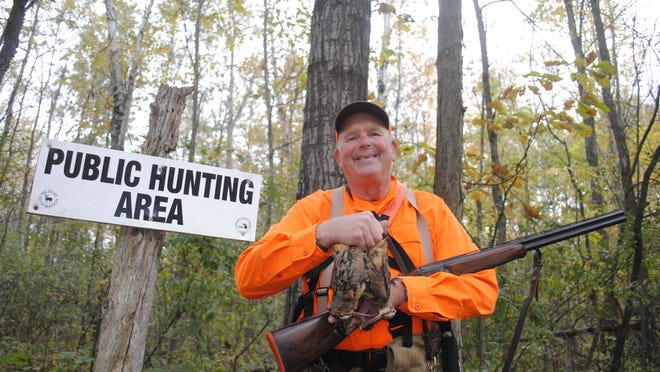 Chuck Riley regularly finds limits of woodcock on public land in southern Michigan.
