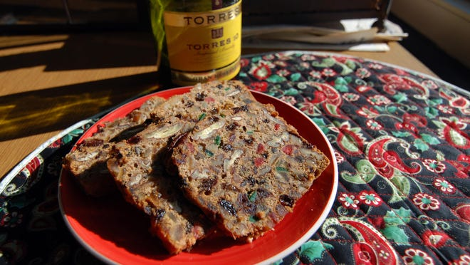 Dark Brandy Fruitcake keeps holiday traditions alive. Jay Dunn/The Salinas Californian