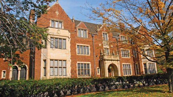 Bishop's Mansion in Palmer Woods Detroit Mi
