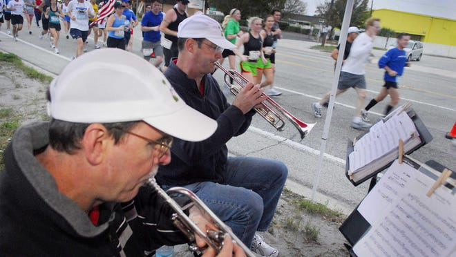 The name may have changed, but music is still a big part of this weekend's marathon and half marathon.
