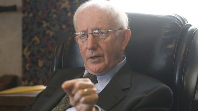 Retired Judge Peter Deegan