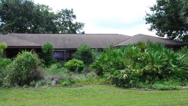 The home of Martha Steuart.