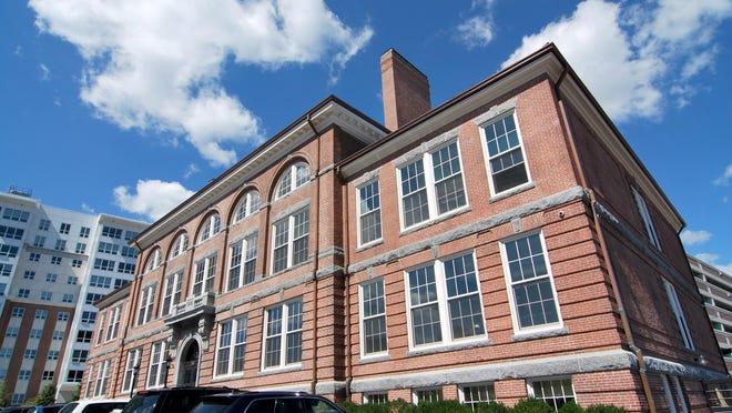 The Coddington Building in Quincy Center houses school administration. Ledger file photo