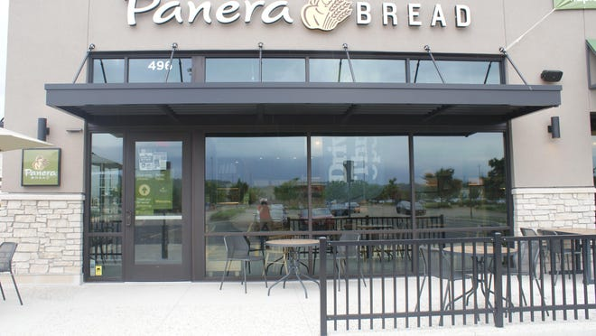 After a move from Camp Street Crossing, Panera Bread's new East Peoria location opened Wednesday in the Levee District.
