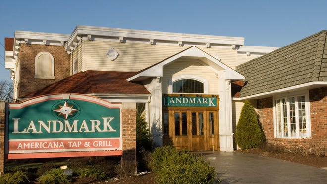 Exterior of the Landmark Americana Tap and Grill in glassboro. THURSDAY  January 11, 2007. Tina Markoe Kinslow/Courier-Post