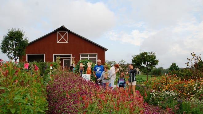 The Kenton County Extension Outdoor Education Center's barn and gardens will again be a backdrop for the Kenton County Farm Harvest Tour on Sept. 20.
