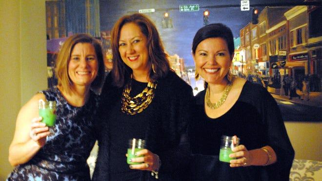 From left, Jennifer Zawadzinski of Brooklyn, N.Y.; Dana Tucker of Franklin; and Carmen Johnston of Columbus, Ga.