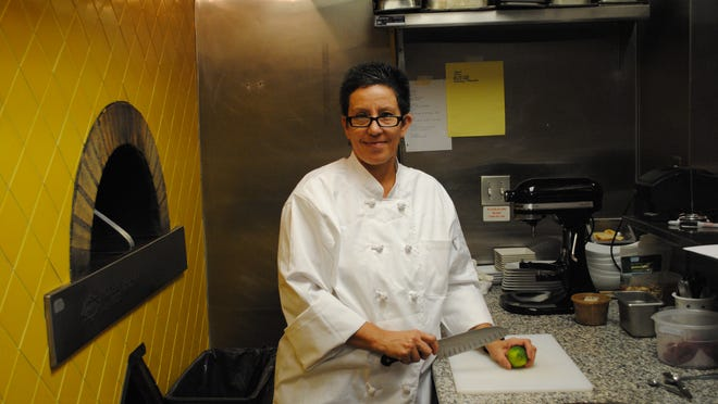 Joane Garcia Colson is the brains behind Cathedral City restaurant Dish Creative Cuisine.