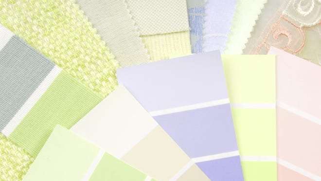 The colors of spring include the beautiful pastels, yellows, greens and lavenders can be found on everything from linens to pottery.