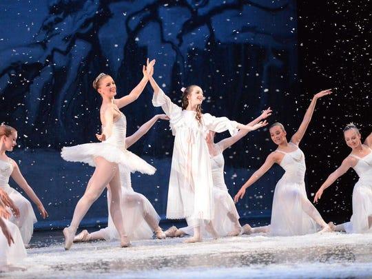 "Ballet Mississippi's ""The Nutcracker"" performances are Friday-Sunday."