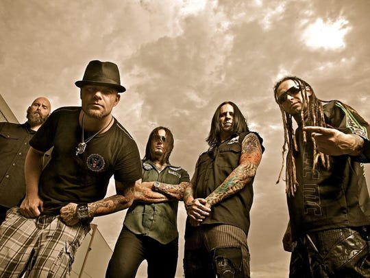 Fiver Finger Death Punch will perform at Fort Rock April 30