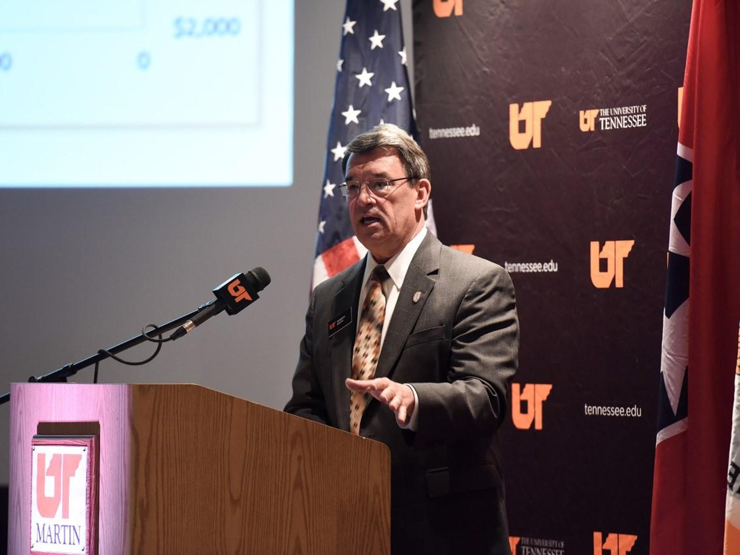 Interim Chancellor Robert Smith began work at UTM on
