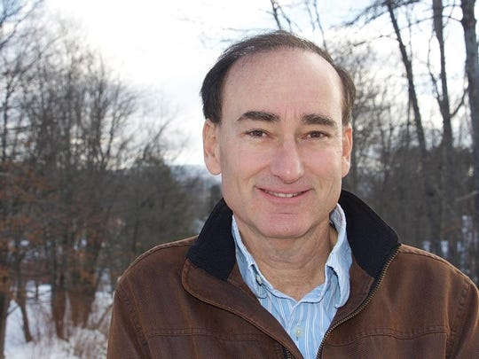 Author Chris Bohjalian in Lincoln.