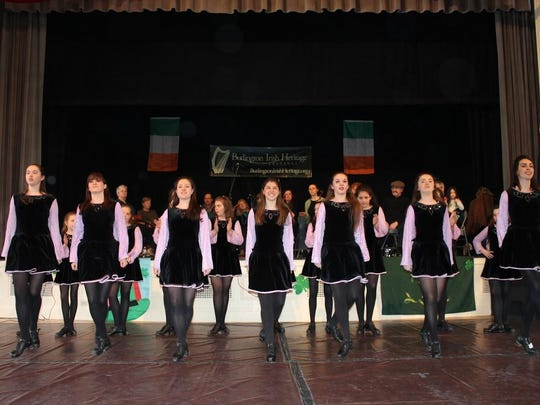 Members of the McFadden Academy of Irish Dance will perform and lead audience participation in Ceili dances on March 18.
