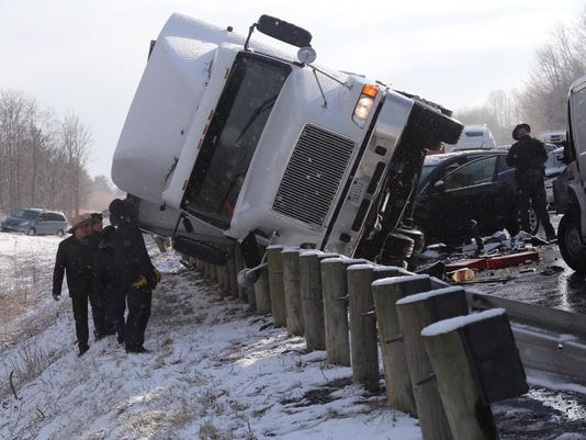 Highway Pileup Ohio