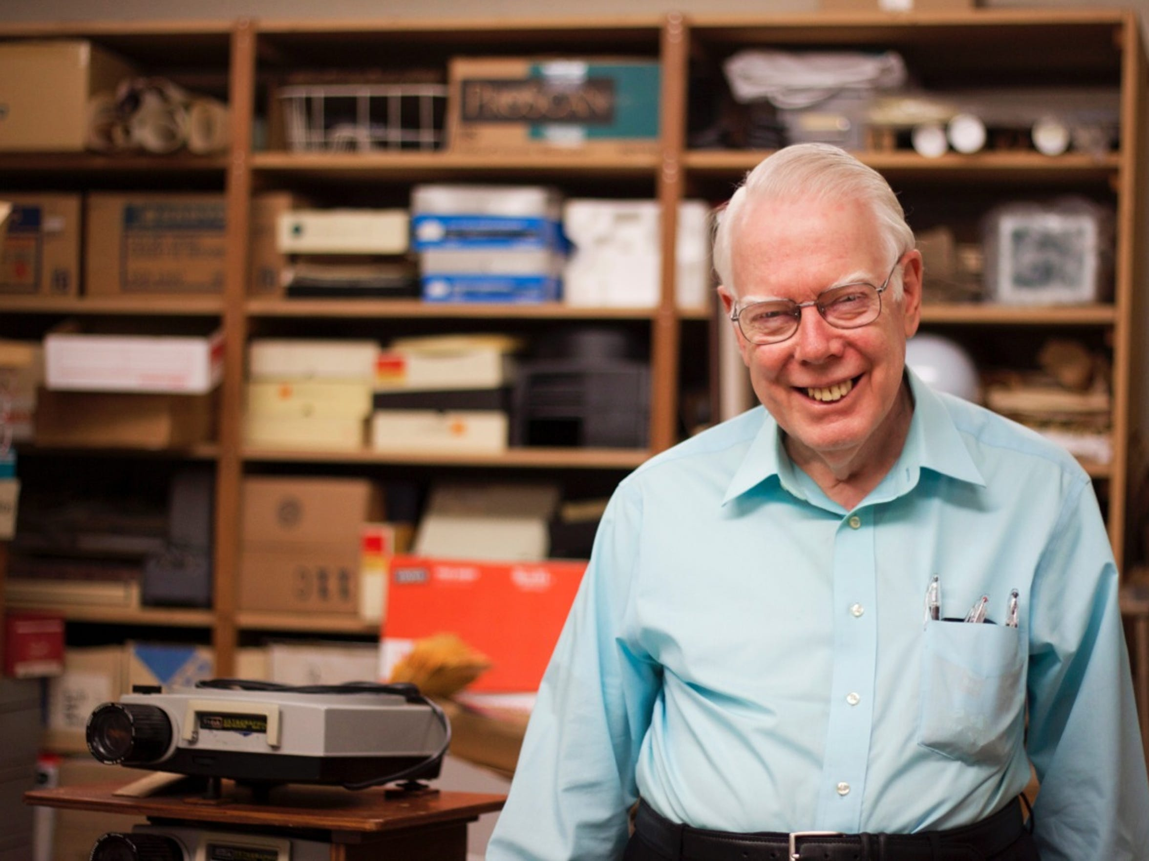 Frank Kujawa has worked at UCF for the past 45 years,