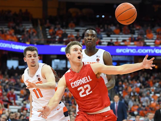 College Basketball Syracuse University Defeats Cornell