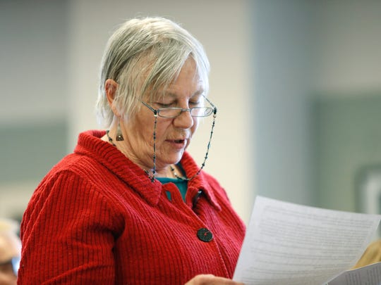 Kathleen Cannon of Greece voices her complaints during