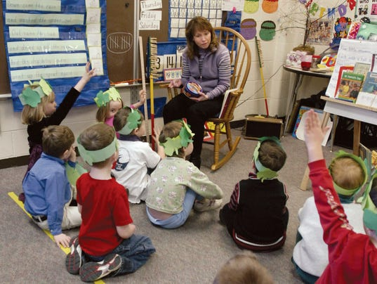 Bower - reading to kids