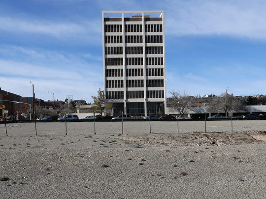 The El Paso Independent School District is interested in purchasing El Paso Community College's Stanton Professional Building at 1100 N. Stanton, as well as the vacant land across Arizona Avenue.