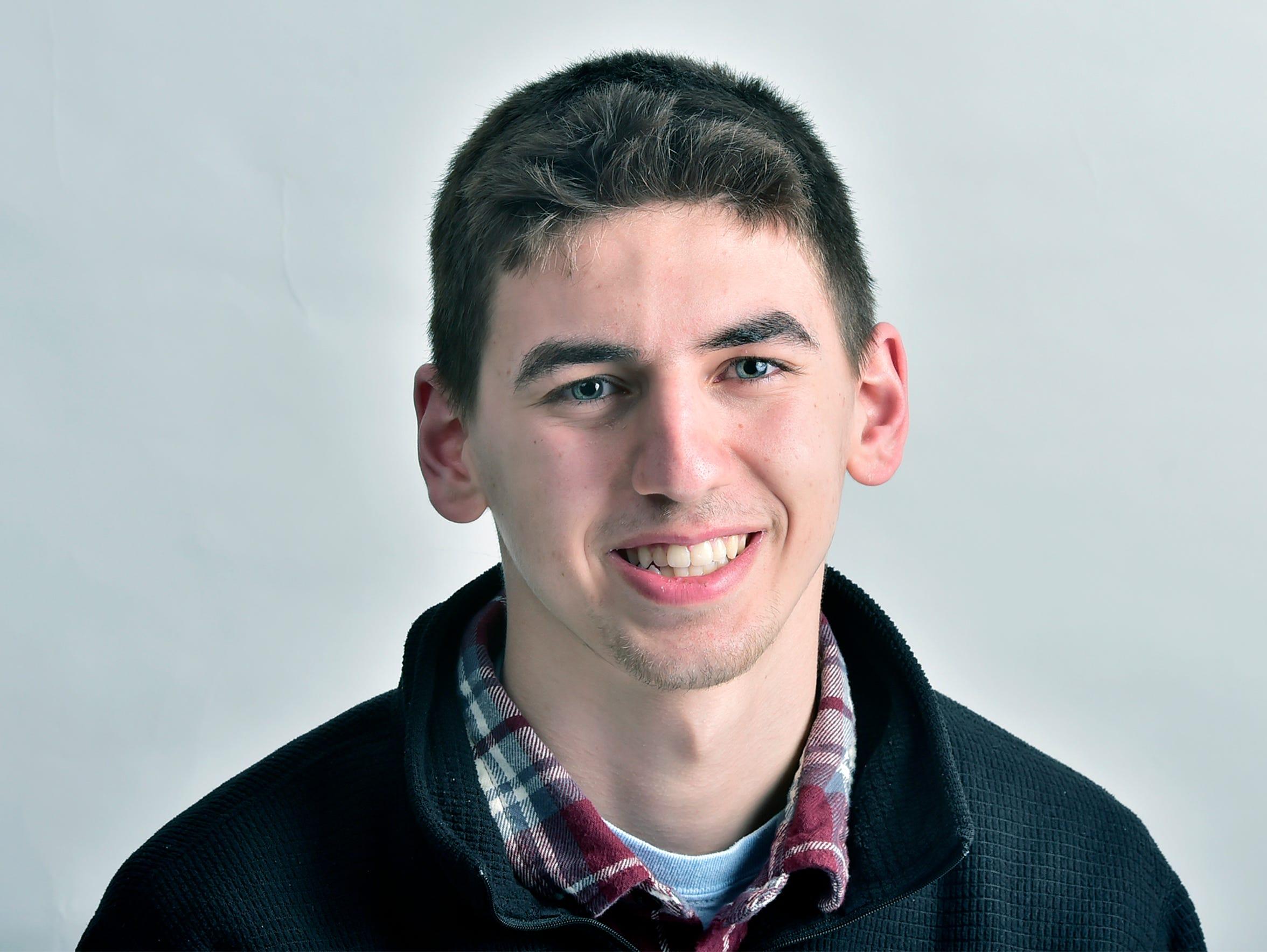Evan Shreffler, CASHS student.