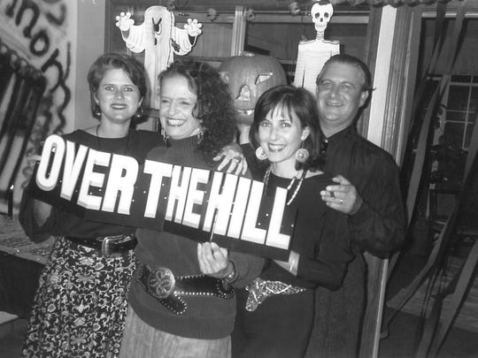 """Someone is """"Over the hill"""" in this undated (but it"""