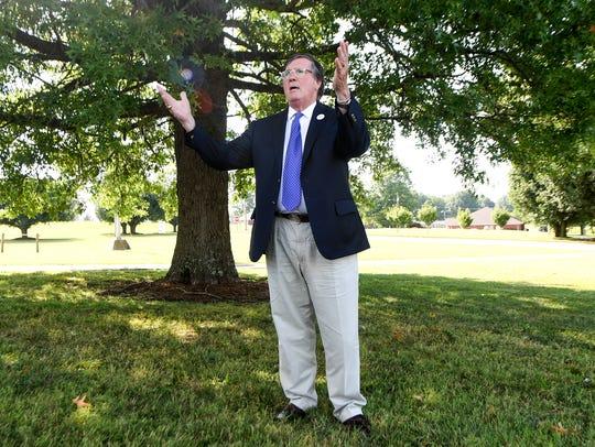 Tennessee gubernatorial candidate Craig Fitzhugh made
