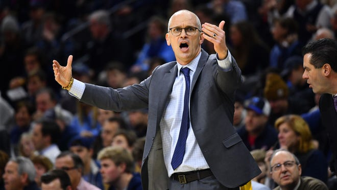 "Dan Hurley will be bringing his UConn men's basketball team to ""Bubbleville"" at Mohegan Sun."
