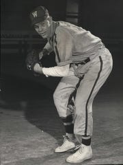 Shortstop Harvey Kuenn was the first All-American in baseball for Wisconsin, and a star for the Tigers.