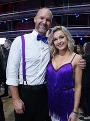 David Ross and Lindsay Arnold take 2nd place on the